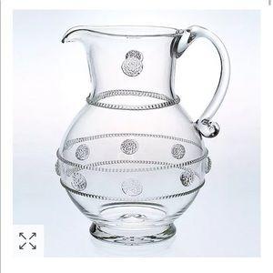 """Juliska """"Isabella"""" Round Glass Pitcher"""